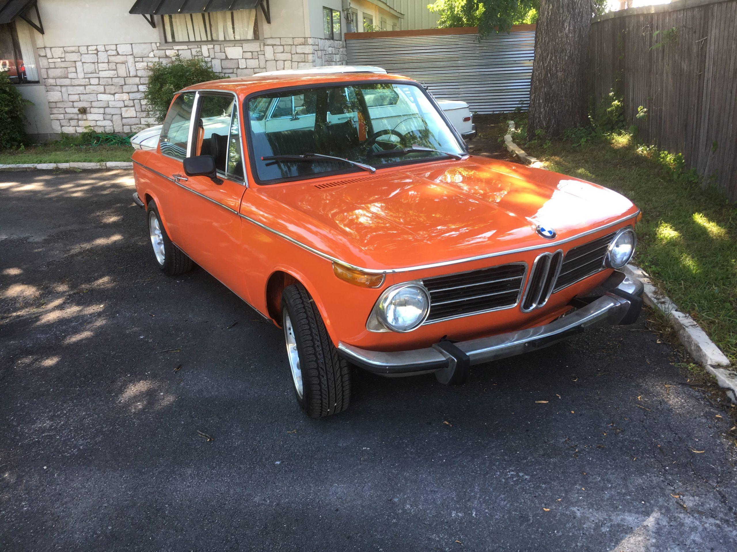 1973 BMW 2002 (Inka Orange) full